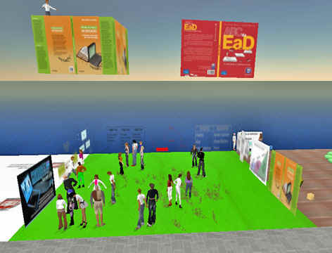 Curso em EaD no Second Life com Vestibular1