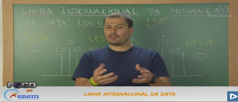 Geografia Vídeo Aula 06 Linha Internacional da Data
