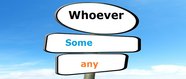 Inglês: Whoever... Some e any Vestibular1